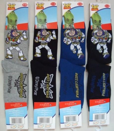 Ponožky Toy Story, 4 barvy