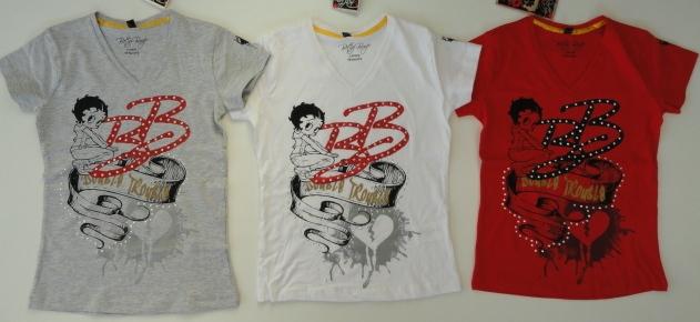 Krásné originální dětské tričko Betty Boop pro holky, 3 barvy
