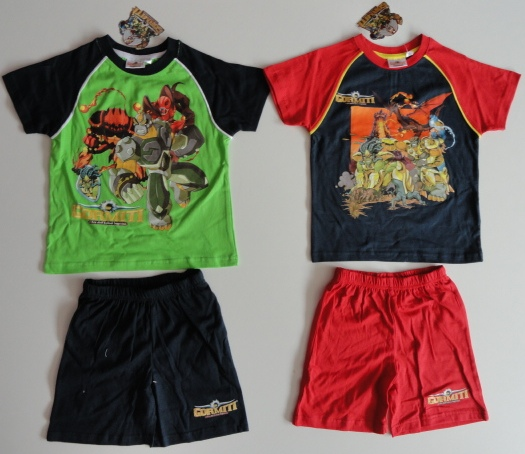Set Gormiti, tričko a šortky / letní pyžamo