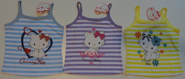 Krásné originální dětské tílko Hello Kitty pro holky - 3 barvy