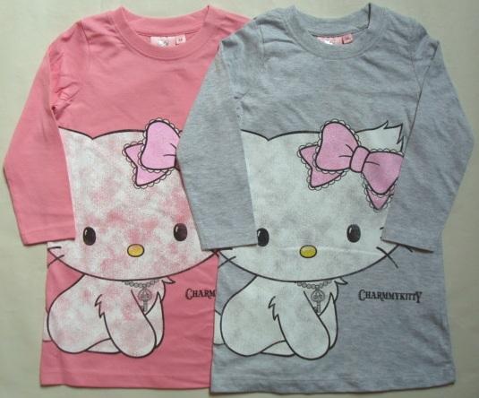 Krásná originální dětská noční košile Hello Kitty pro holky