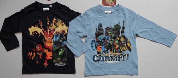 Tričko Gormiti, dlouhý rukáv, 2 barvy