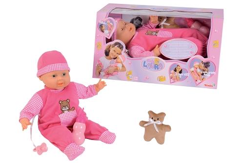 Funkční panenka Laura, interaktivní, 45 cm