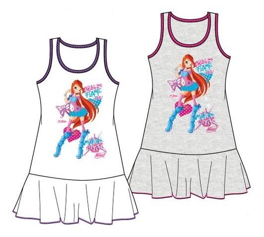 Krásné originální dětské šaty Winx pro holky