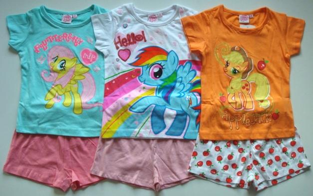 Krásné originální dětské pyžamo My Little Pony pro holky - set