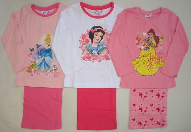 Krásné originální dětské pyžamo Disney Princezny pro holky