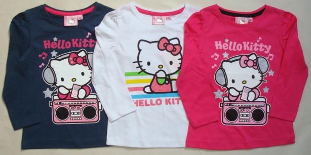 Krásné originální dětské tričko Hello Kitty pro holky