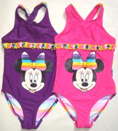 Krásné originální dětské plavky Minnie pro holky