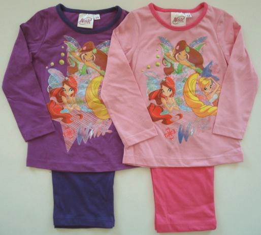 Krásné originální dětské pyžamo Winx pro holky