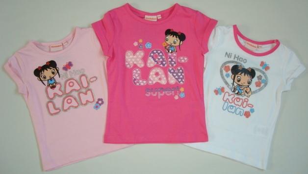 Krásné originální dětské tričko Kai-lan pro holky