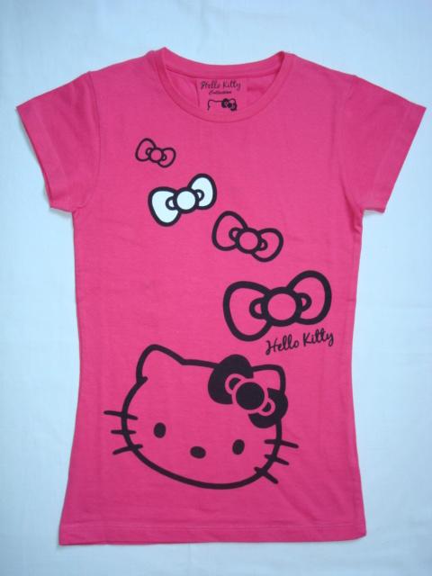 Krásné originální dětské tričko Hello Kitty, růžové