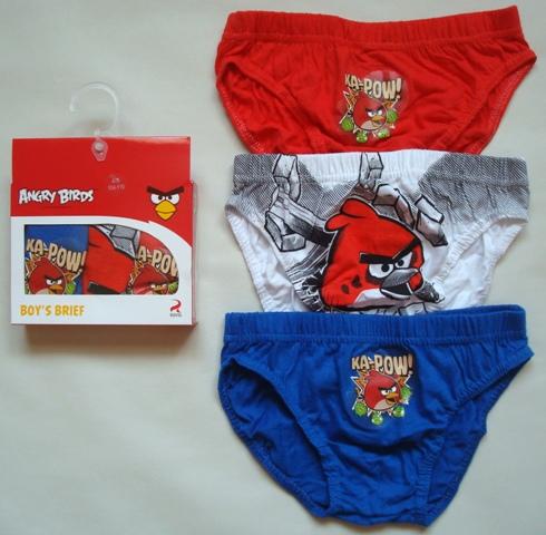 Slipy Angry Birds, 3-Pack