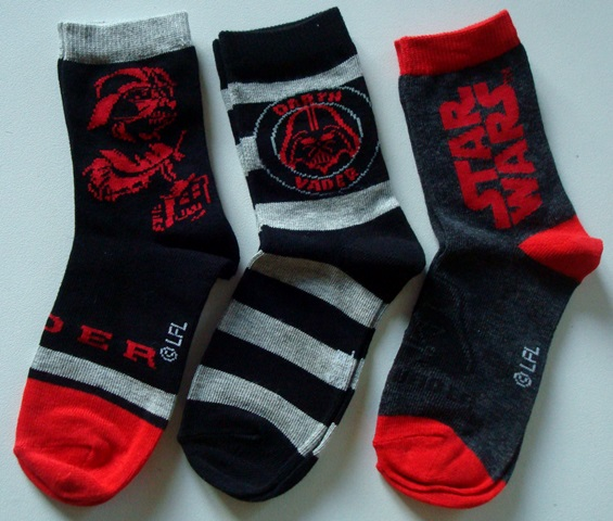 Ponožky Star Wars, 3-Pack, sada 2