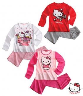 Krásné originální dětské pyžamo Hello Kitty pro holky, 3 barvy
