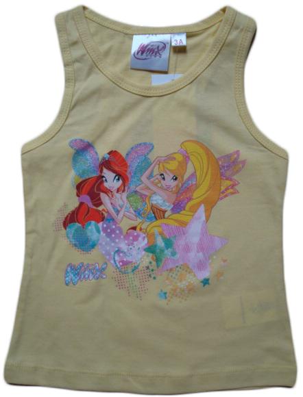 Krásné originální dětské tílko Winx pro holky