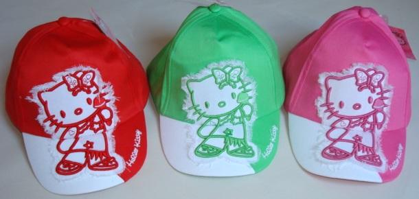 Krásná originální dětská kšiltovka Hello Kitty pro holky