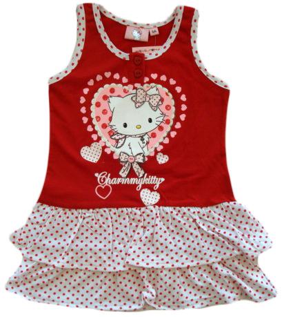 70e4bc37c76e Krásné originální dětské šaty Hello Kitty pro holky