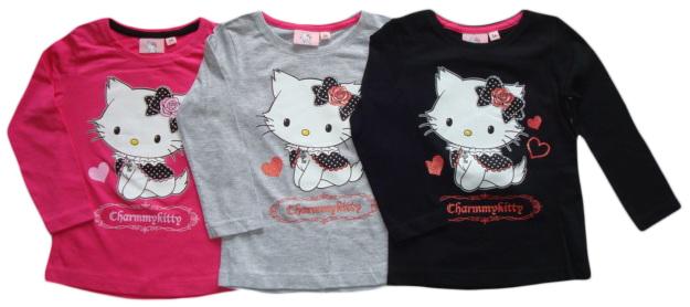 Tričko Hello Kitty, dlouhý rukáv