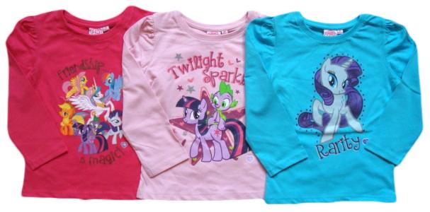 Tričko My Little Pony, 3 barvy