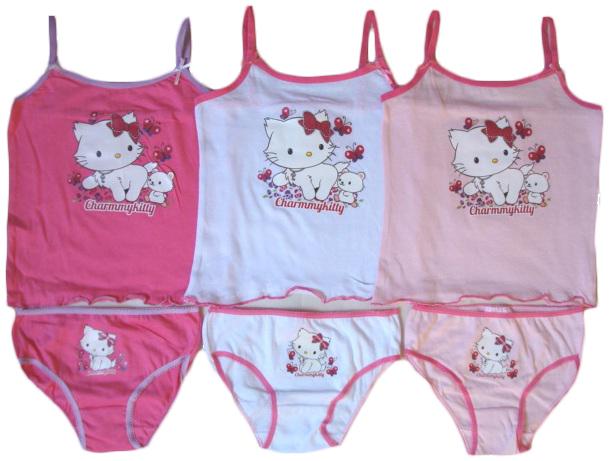 Souprava - košilka a kalhotky Hello Kitty