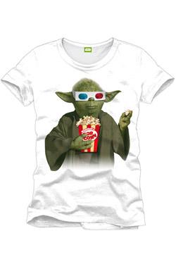 Tričko Star Wars Yoda Popcorn