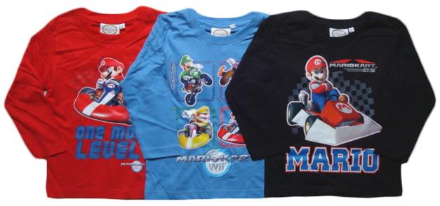 Tričko Super Mario