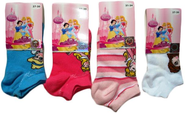 Ponožky Disney Princezny, kotníkové