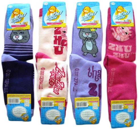 Ponožky Zhu Zhu Pets