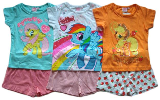 Set tričko a šortky / Letní pyžamo My Little Pony