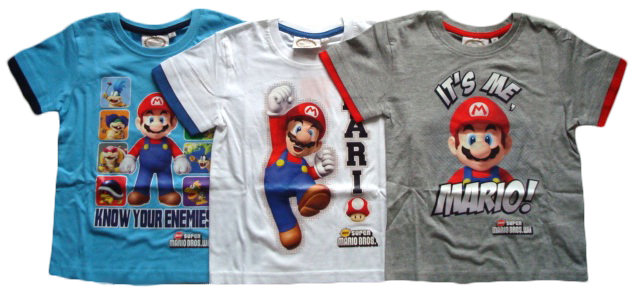Tričko Super Mario, krátký rukáv