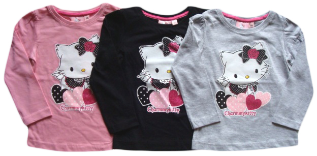 Tričko Hello Kitty s dlouhým rukávem