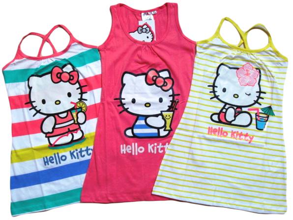 Letní šaty Hello Kitty