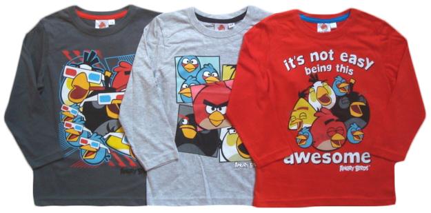 Tričko Angry Birds, uni 4