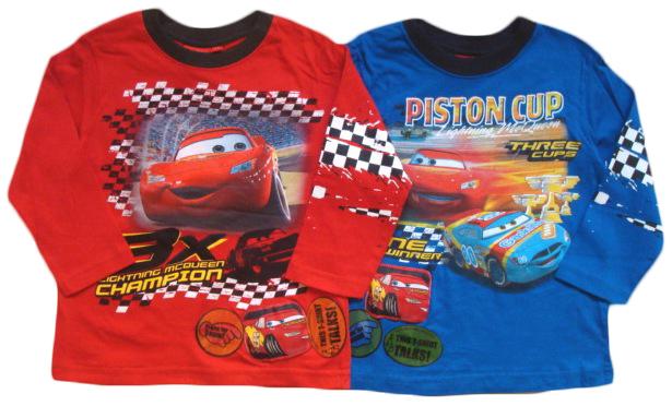 Tričko Disney Cars, s hrací nášivkou