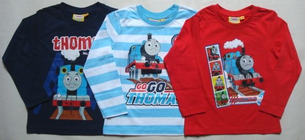 Tričko Mašinka Tomáš, tmavomodré, s proužky, červené