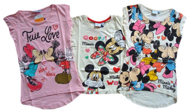 Tričko Minnie, 3 barvy