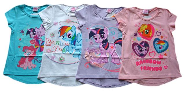 Tričko My Little Pony, 4 barvy