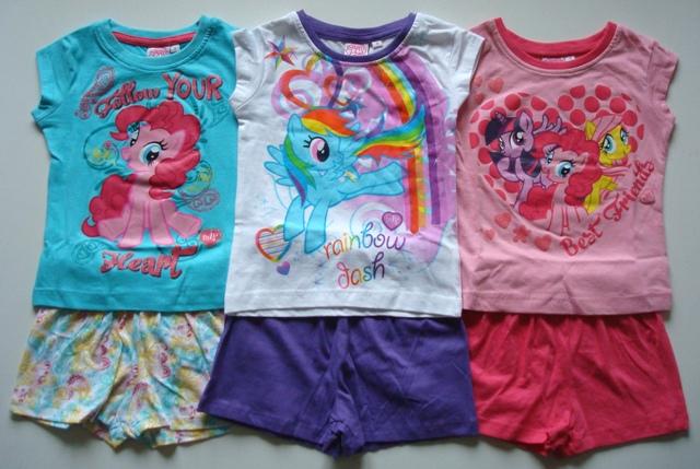 Letní pyžamo / Set tričko a šortky My Little Pony