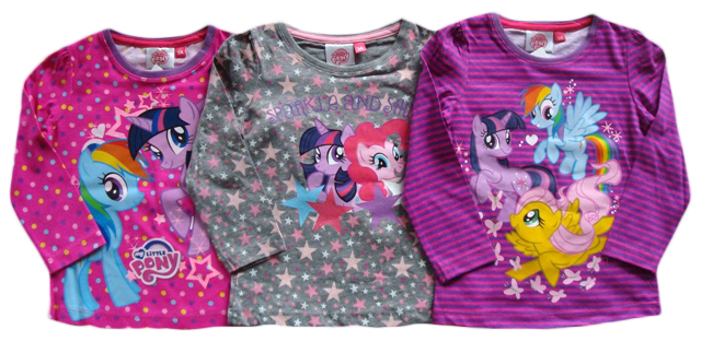 Tričko My Little Pony, barevné