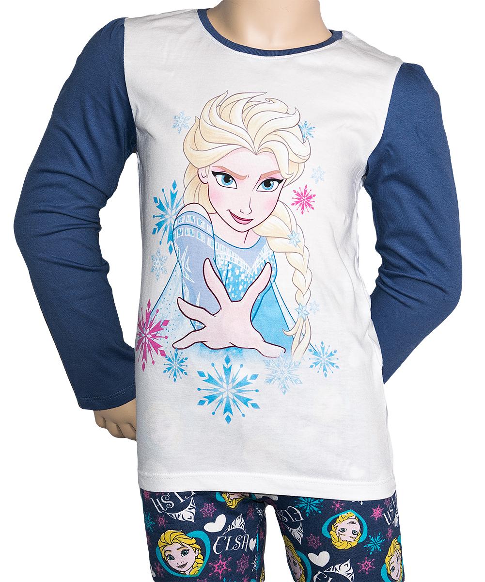 Krásné originální dětské pyžamo Frozen pro holky - velikost 104