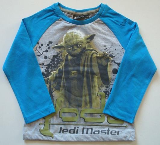 Krásné originální dětské tričko pro kluky Star Wars, šedé