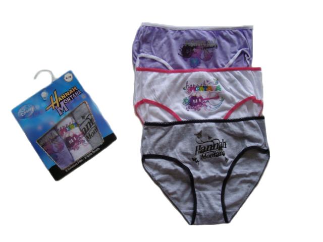 Kalhotky Hannah Montana, 3- Pack